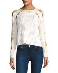 Zoe Jordan - Connor Tie Dye Sweater - Lyst