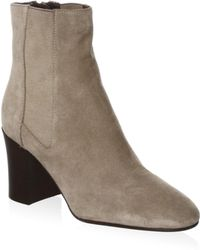 Aquatalia - Frida Suede Booties - Lyst