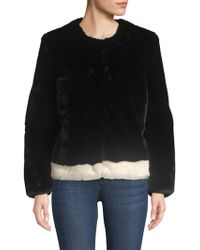 Saks Fifth Avenue - Collection Heurueh Faux Fur Plush Jacket - Lyst