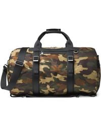 6d38ae3e6c1b Michael Kors - Men's Kent Camo Backpack Duffle Bag - Olive - Lyst