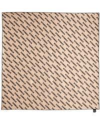 Vetements - Monogram Silk Scarf - Lyst