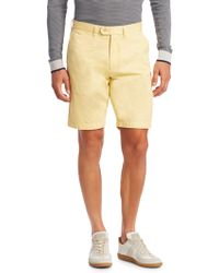 Saks Fifth Avenue - Collection Flat Front Shorts - Lyst