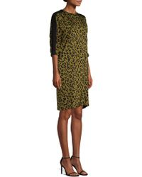 ESCADA - Cheetah Print Dress - Lyst