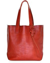 Frye - Carson Leather Tote - Lyst