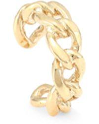 Zoe Chicco 14k Gold Medium Curb Chain Ear Cuff