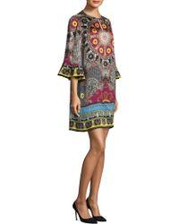 Etro - Paisley Ruffle-sleeve Dress - Lyst
