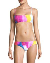 Mara Hoffman - Sia Bikini Top - Lyst