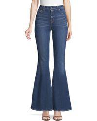 Elie Tahari - Leone Flare Jeans - Lyst