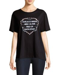 Each x Other - Printed Slogan Tee - Lyst