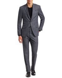 Saks Fifth Avenue - Collection Glen Check Suit - Lyst