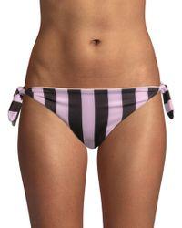 Solid & Striped - The Jane Striped Bikini Bottom - Lyst