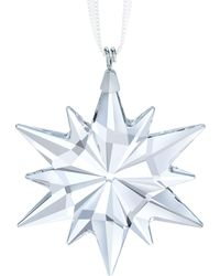 Swarovski - Star Crystal Ornament - Lyst