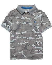 Ralph Lauren - Boy's Striped Stretch Polo - Lyst