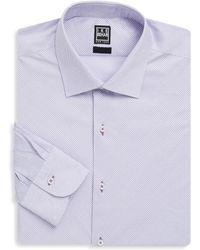 Ike Behar - Contemporary Fit Cotton Dress Shirt - Lyst
