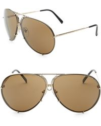 9ecd6ce643 Porsche Design - P 8478 69mm Aviator Sunglasses - Lyst