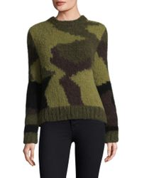 Smythe - Knitted Wool Sweater - Lyst