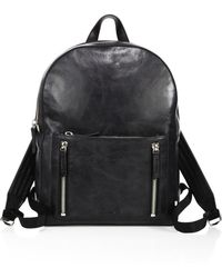 Uri Minkoff - Zippered Leather Backpack - Lyst
