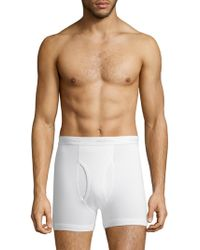 Saks Fifth Avenue - Collection Three-pack Boxer Brief Set - Lyst