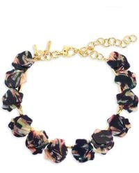 Lele Sadoughi - Concrete Jungle Wisteria Necklace - Lyst