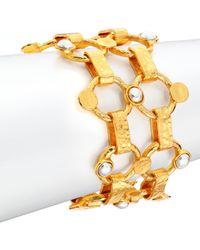 Stephanie Kantis - Chantilly Two-tone Link Bracelet - Lyst