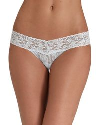 Hanky Panky - Bride's Low-rise Thong - Lyst