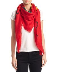 Gucci - Tomorrow Is Now Yesterday Scarf - Lyst