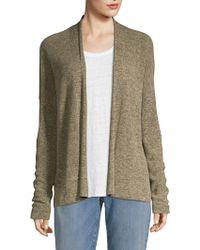 Eileen Fisher - Organic Cotton Medley Simple Cardigan - Lyst