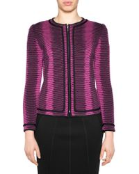Stizzoli - Wool Stripe Tailored Jacket - Lyst