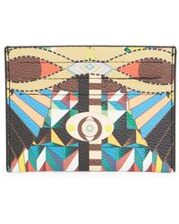 Givenchy - Egyptian Print Card Case - Lyst