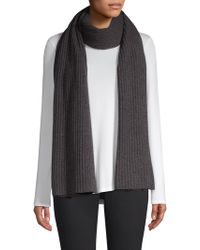 Saks Fifth Avenue - Collection Cashmere Ribbed Scarf - Lyst