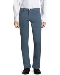 Corneliani - Slim-fit Cotton Pants - Lyst