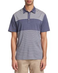 Saks Fifth Avenue - Collection Pieced Stripe Polo - Lyst