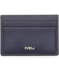 Furla - Grained Leather Card Case - Lyst