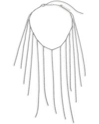 Dries Van Noten - Fringe Bib Collar Necklace - Lyst