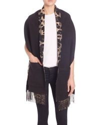 Burberry - Helene Cashmere & Wool Pocket Stole - Lyst