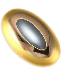 Stephanie Kantis - Tri-tone Gold Dome Ring - Lyst