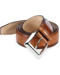 Sutor Mantellassi - Tyler Master Leather Belt - Lyst