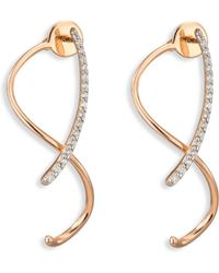 Kismet by Milka - Spectrum Diamond & 14k Rose Gold Front-&-back Earrings - Lyst