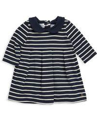 Petit Bateau - Baby's Leonore Striped Dress - Lyst