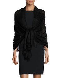 Saks Fifth Avenue - Cashmere & Silk Lace Shawl - Lyst