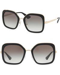 Prada - Translucent Two Tone Sunglasses - Lyst
