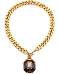 House of Lavande - Batari Pyrite Pendant Necklace - Lyst