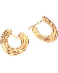 Melissa Kaye - Jen Maia 18k Yellow Gold Wrap Earrings - Lyst
