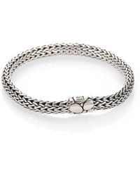 John Hardy - Small Chain Bracelet With Kali Clasp - Lyst