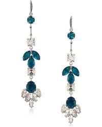ABS By Allen Schwartz - Rockstars Linear Crystal Drop Earrings - Lyst