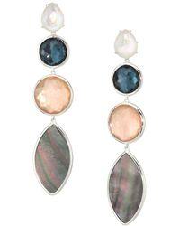 Ippolita - 925 Wonderland Quartz, Mother-of-pearl & Sterling Silver Drop Earrings - Lyst