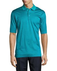 Bugatchi - Mercerized Cotton Polo - Lyst