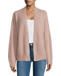 NAKEDCASHMERE - Cashmere Crop Open Cardigan - Lyst