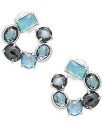 Ippolita - Rock Candy Multi-stone And Sterling Silver Stud Earrings - Lyst