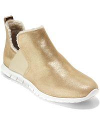 Cole Haan - Zerogrand Slip-on Boots - Lyst
